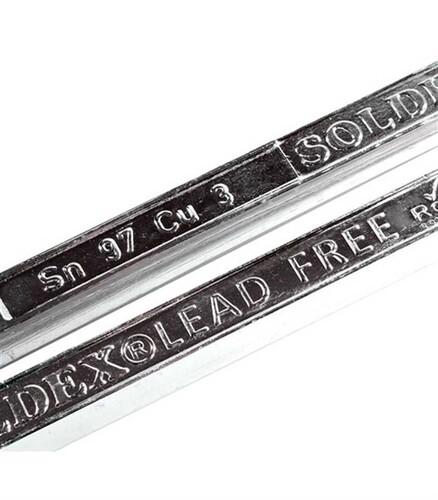 Soldex - Sn99.3 Cu0.7 Kurşunsuz Çubuk Lehim 6 mm